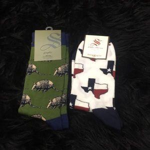 2 pair brand new socks